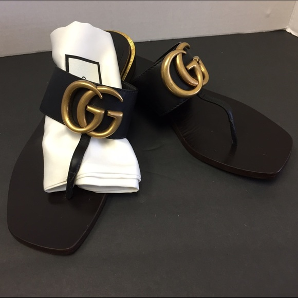 7279d87fb43f Gucci Shoes - Gucci Marmont thong Sandal