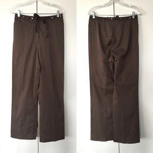 Basler Pants - Brown wide leg dress pants! 🌰