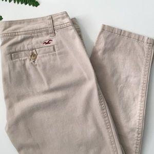 Hollister Pants - HOLLISTER Boyfriend Fit Khaki Pants
