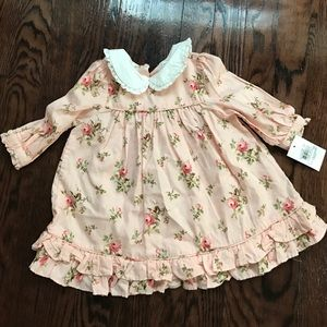Ralph Lauren Easter Dress 6M NWT. No diaper cover