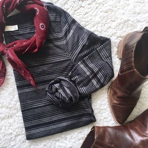 Madewell Striped Layering Tee