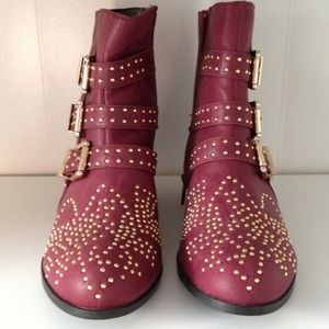 Shoes - Studded Booties