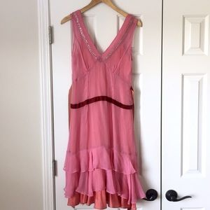 Plenty by Tracy Reese Anthropologie dress pink