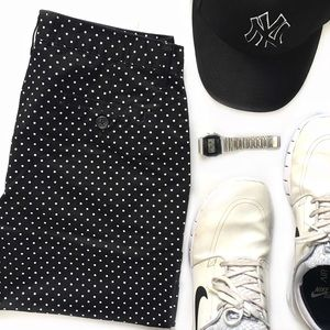 21men Other - NWT Black Polka Dot Bermuda Shorts