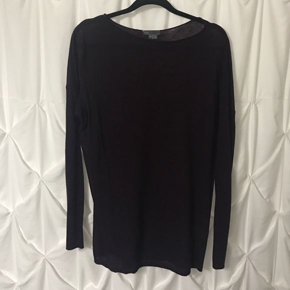 86% off Vince Tops - Vince Deep Purple Sweater Size M from Jenna's ...