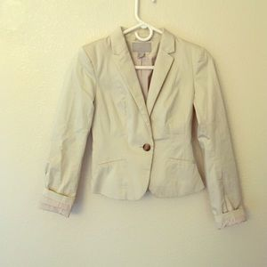 H&M Jackets & Blazers - H&M one button blazer