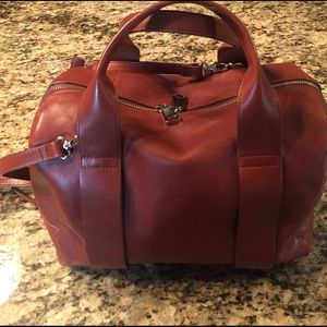 Skagen Handbags - Skagen luggage tan leather beautiful condition