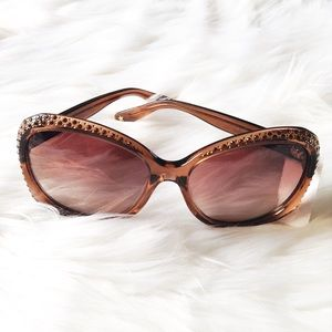 Jimmy Choo Accessories - Jimmy Choo crystal sunnies