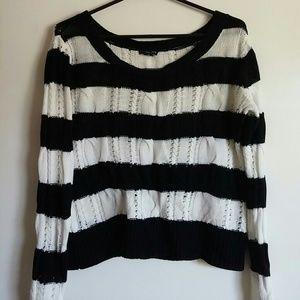 Ecko Unlimited Sweaters - Black & White Ecko Red Ecko UNLTD Sweater - Large