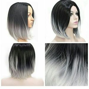 Other - Black and grey ombre wig