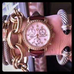 Michele Accessories - Michele CSX33 Diamond Watch
