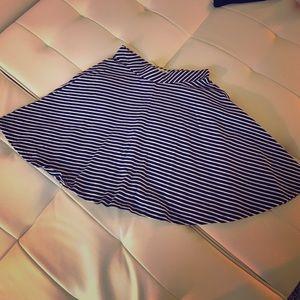 So Dresses & Skirts - Striped skater skirt