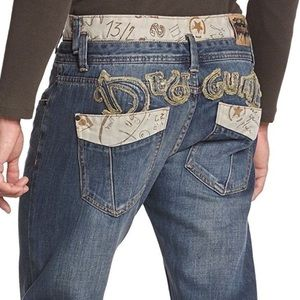 Desigual Other - Desigual Jeans The Happy Slim Double Belt Skinny