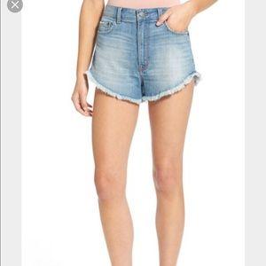 Sun and Shadow Pants - Sun and Shadow denim cutoff shorts. Size 0