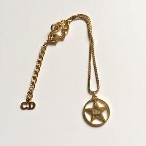 Christian Dior Gold Bracelet.