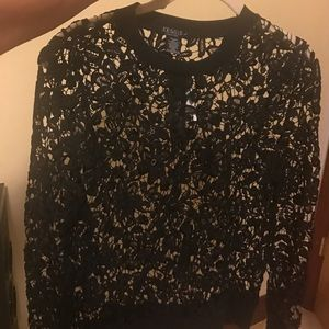 Joe & Elle Sweaters - Joe & Elle floral sweater large