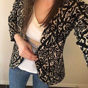 Lush Jackets & Blazers - Over sized print blazer