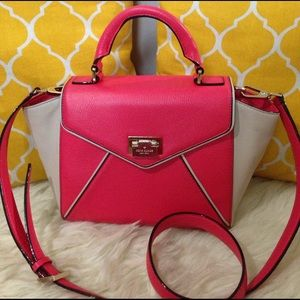 kate spade Handbags - 🌸FLASH❗️🌸Kate Spade All Leather 2 Way Satchel