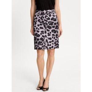Banana Republic Dresses & Skirts - Banana Republic pencil skirt (animal print)