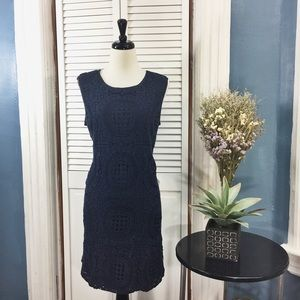 Katherine Barclay Dresses & Skirts - Katherine Barclay Navy Blue Sleeveless Dress