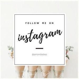 ≫ follow me on instagram