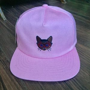 Pink Kitty Hat