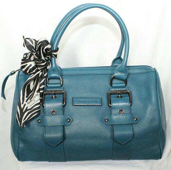 Longchamp Kate Moss Leather Gloucester Duffle