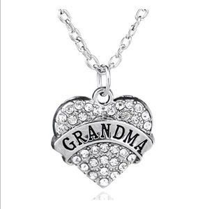 Jewelry - Crystal Grandma necklace. New in bag