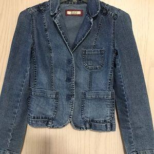 Jordache Jackets & Blazers - Jordache blazer style denim jacket