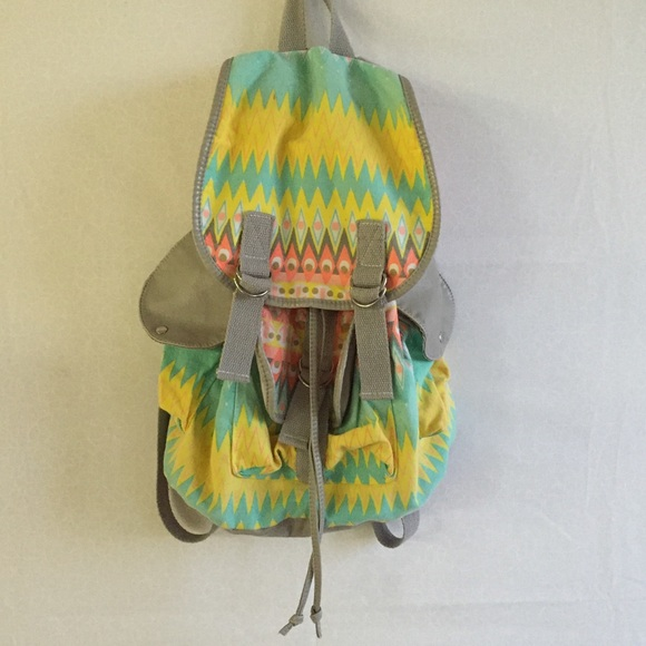Claire's Handbags - MOVING! MUST GO! aztec tribal backpack