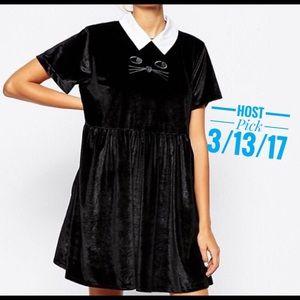 Lazy Oaf Dresses & Skirts - Lazy oaf cat dress !