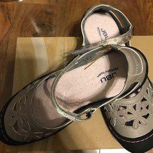 Jambu Shoes - JBU memory foam 8.5 wildflower cement jambu comfy