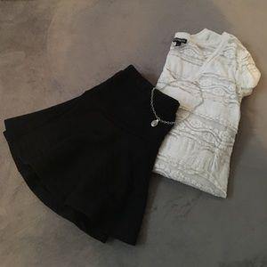 Foreign Exchange Dresses & Skirts - Black mini skirt