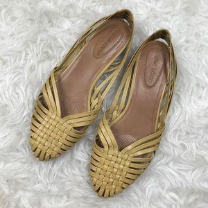 Corso Como Yellow Braided Sandals