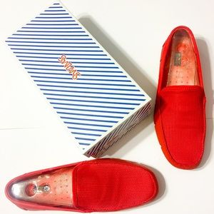 Swims Other - Red Swims Flat Front Pool Beach Sand Loafers 46 12