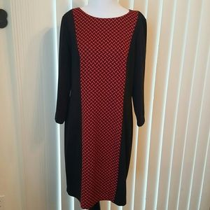 Jessica Howard Dresses & Skirts - Jessica Howard Black & Red Dress
