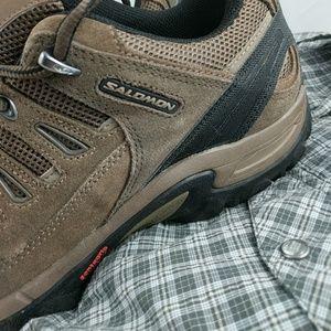 Salomon Other - Men's Salomon hiking shoes 10