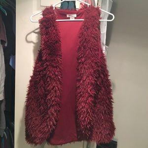 Self Esteem Jackets & Blazers - Super soft Burgundy vest