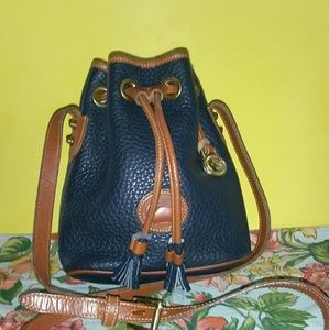 Dooney & Bourke Handbags - Dooney & Bourke VINTAGE MINI* SZ*DRAWSTRING