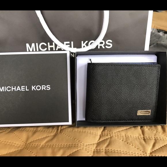 2b445135ed9c Michael Kors Bags | Sale Mk Jet Set Men Billfold Leather | Poshmark