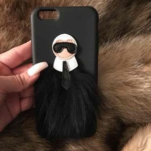 CHANEL Accessories - Chanel's Karl Lagerfeld iPhone 6 cellphone case