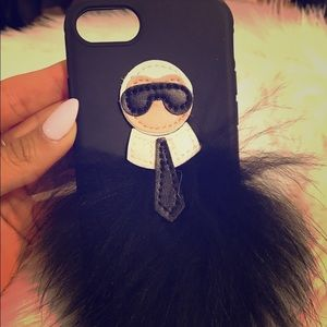 CHANEL Accessories - 🖤🖤Chanel's & Fendi Karl Lagerfeld iPhone Cellph