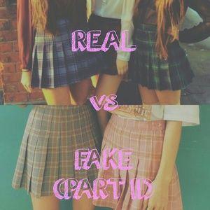REAL vs FAKE Pt.2 || American Apparel Tennis Skirt