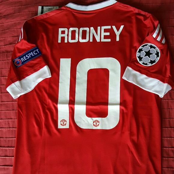 7da67ae82e0 Adidas Other - Wayne Rooney Manchester United 2015 2016 UCL