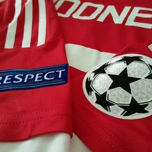 1b3ba0baf17 Adidas Shirts - Wayne Rooney Manchester United 2015 2016 UCL
