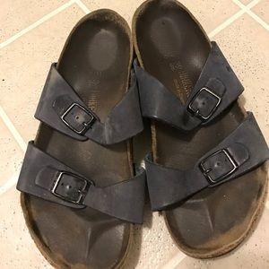 Birkenstock Shoes - Birkenstock leather sandals