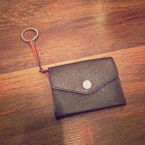 Michael Kors Wallet w/ Keychain, Coin Purse, ID