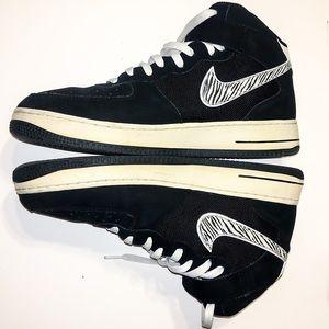 Nike Air Force 1 Mid '07 Zebra Black White 11.5
