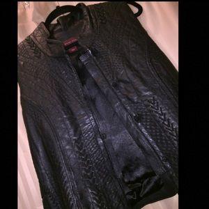 Margaret Godfrey Jackets & Blazers - Margaret Godfrey Genuine Leather Vest~ Size 14~NWT
