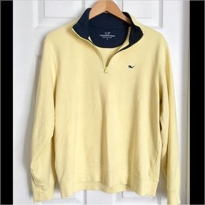 Vineyard Vines Other - ✂️PRICE⬇️✂️Vineyard Vines Yellow Jersey 1/4 Zip